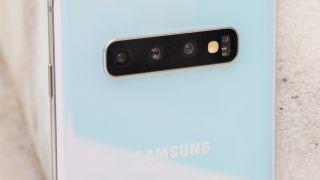 La cámara del Samsung Galaxy S10.