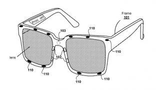 Ilustración de las gafas graduadas VR de Sony según una patente reciente (Crédito de la imagen: Sony / Oficina de marcas comerciales y marcas de EE. UU.)
