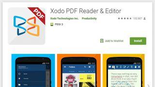 Lector de PDF Xodo