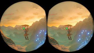 Las gafas VR de Nintendo Labo funcionan muy bien para juegos dedicados, pero el modo VR de Breath of the Wild fue un desastre natural.