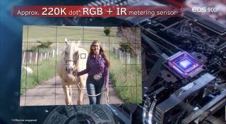 El nuevo sensor de 220,000k actualiza la alternativa anterior de 7,560 píxeles