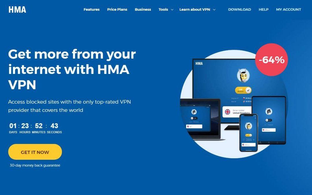 HMA VPN 5.0 agrega nuevas ubicaciones y opciones de privacidad mejoradas