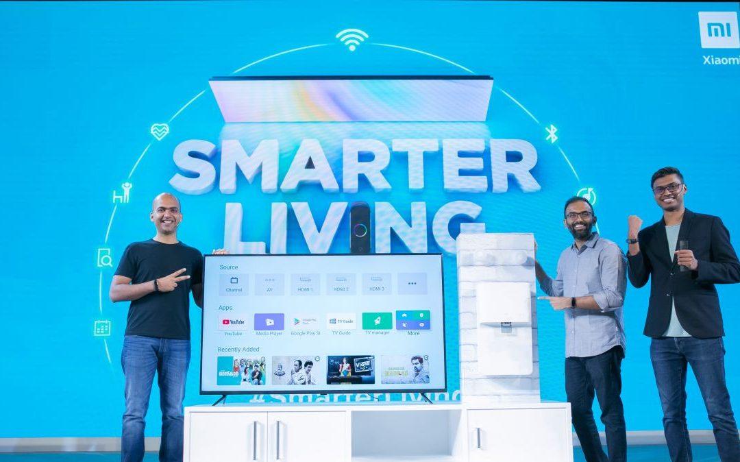 Xiaomi lanza nuevos televisores Mi 4K, purificador de agua y Mi Band 4 en India