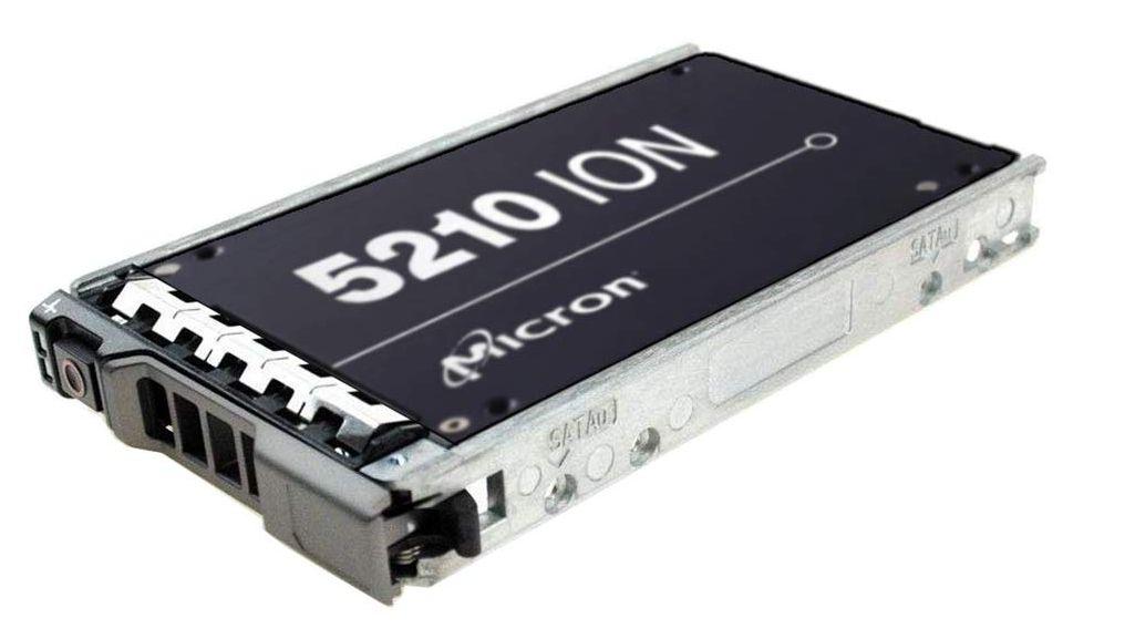 El 7,7 TB Micron 5210 Ion es actualmente el SSD de mayor capacidad, el más barato