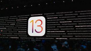 iOS 13 lanza varios dispositivos antiguos (crédito de imagen: Apple)