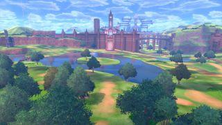 La zona salvaje es vasta y es el lugar principal para acampar con tus Pokémon existentes o para capturar nuevos Pokémon.