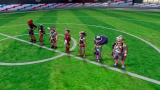 Mire a todos estos líderes de gimnasios, esperando que los venza