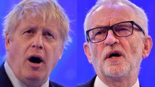 Mire las elecciones generales en línea: Boris Johnson y Jeremy Corbyn