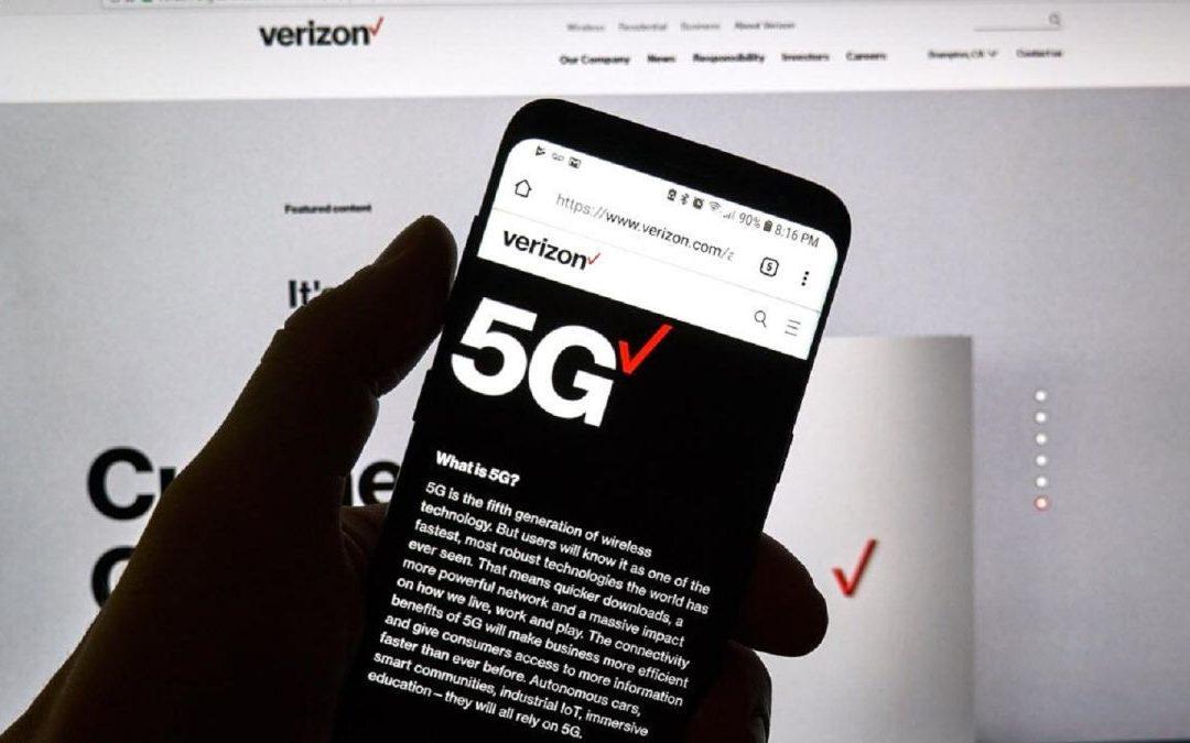 Las actualizaciones semanales de eficiencia 5G se esperan temprano, dice Verizon