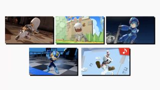 Altair, Megaman, Rabbids y (sollozos) Cuphead se unen a la lucha a su manera