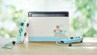 Sistema de cruce de animales con temática Nintendo Switch