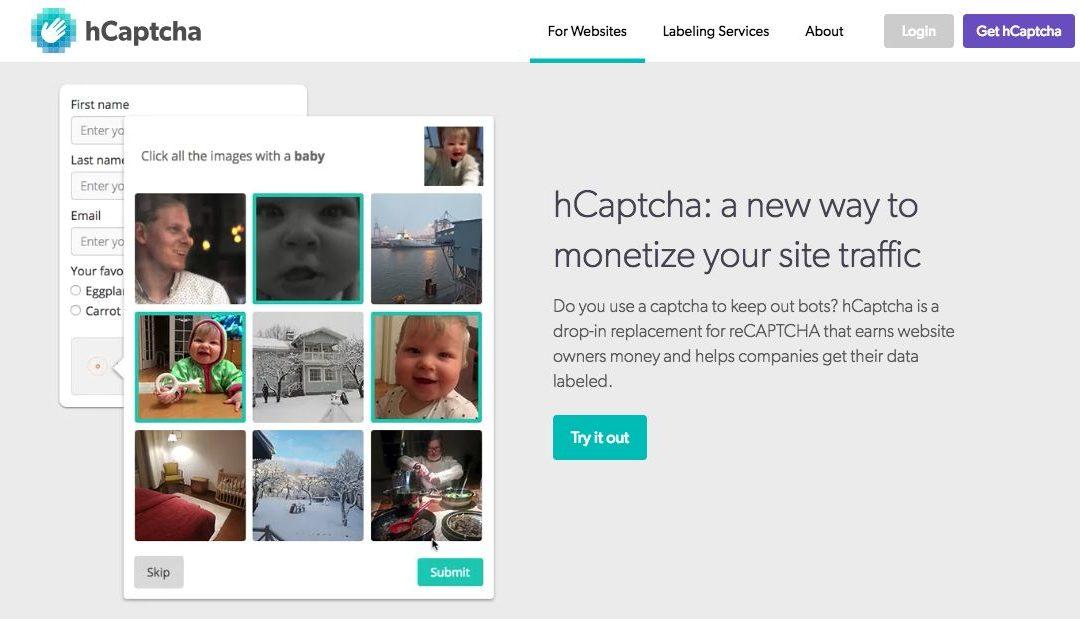 Cloudflare elige hCaptcha sobre el reCAPTCHA de Google