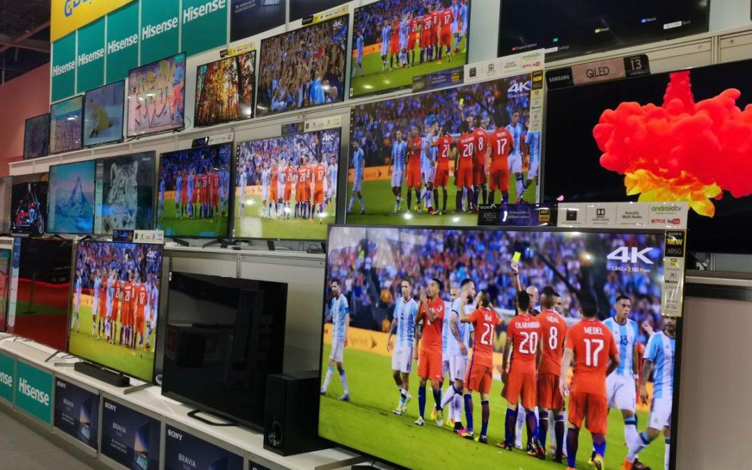 Se espera que el gasto en televisores inteligentes disminuya 9.4% en la segunda mitad del año en el MEA