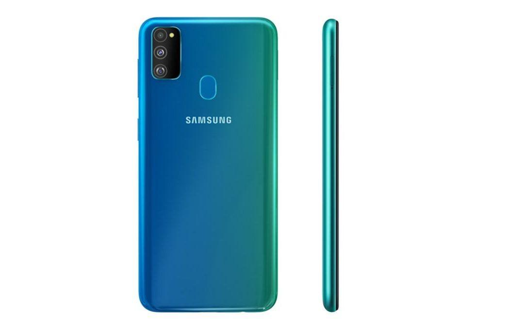 Samsung Galaxy M31s tiene batería de 6000mAh