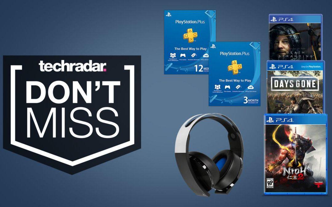 Las ventas de Days of Play ofrecen juegos de PS4, auriculares y ofertas de PS Plus a su fin de semana.