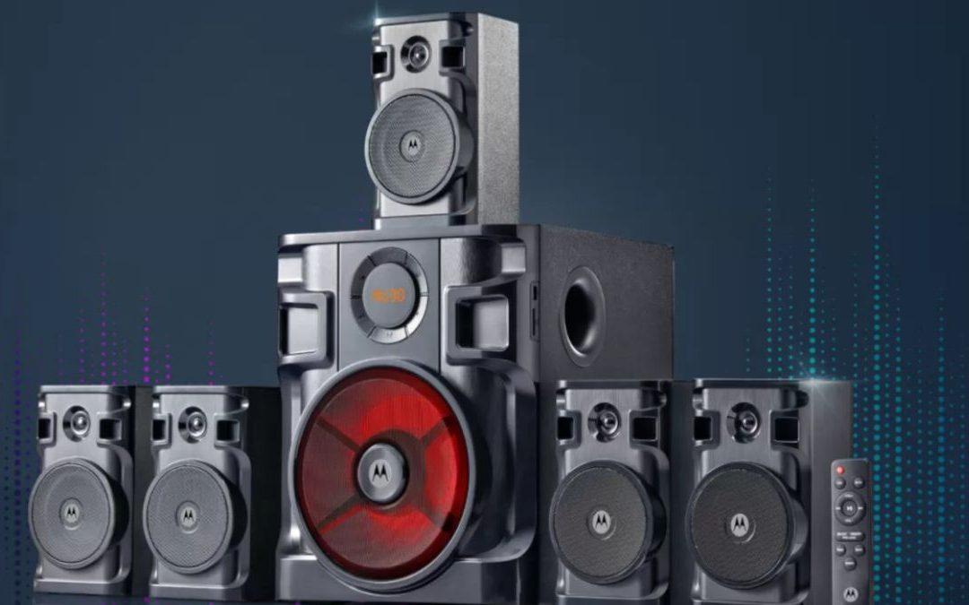 Motorola lanza barra de sonido y home theaters en India