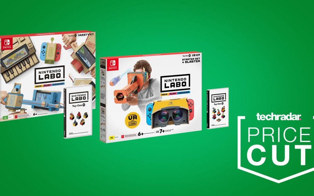 Nintendo Labo ofrece paquetes de ofertas a la venta por solo € 20