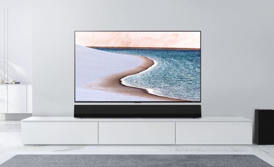 La barra de sonido LG GX es un accesorio de audio costoso para un televisor OLED costoso