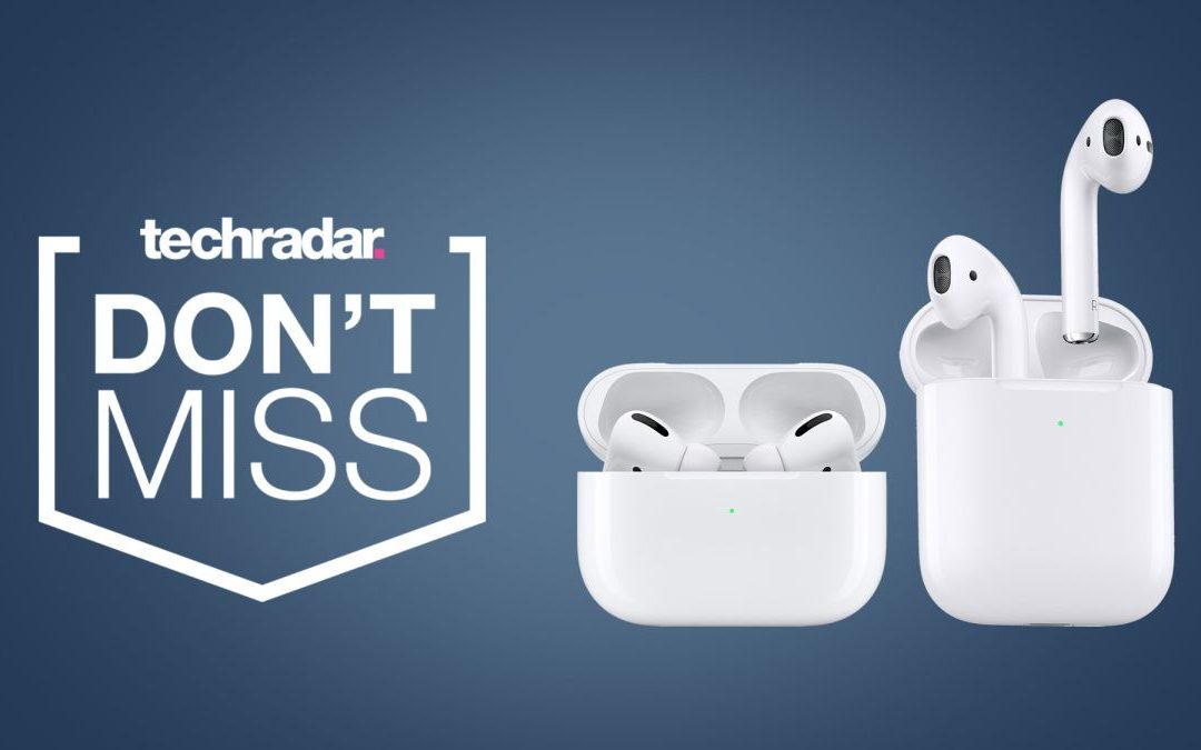 Date prisa: los Apple AirPods están en stock y a la venta en Amazon para el Cyber ​​Monday