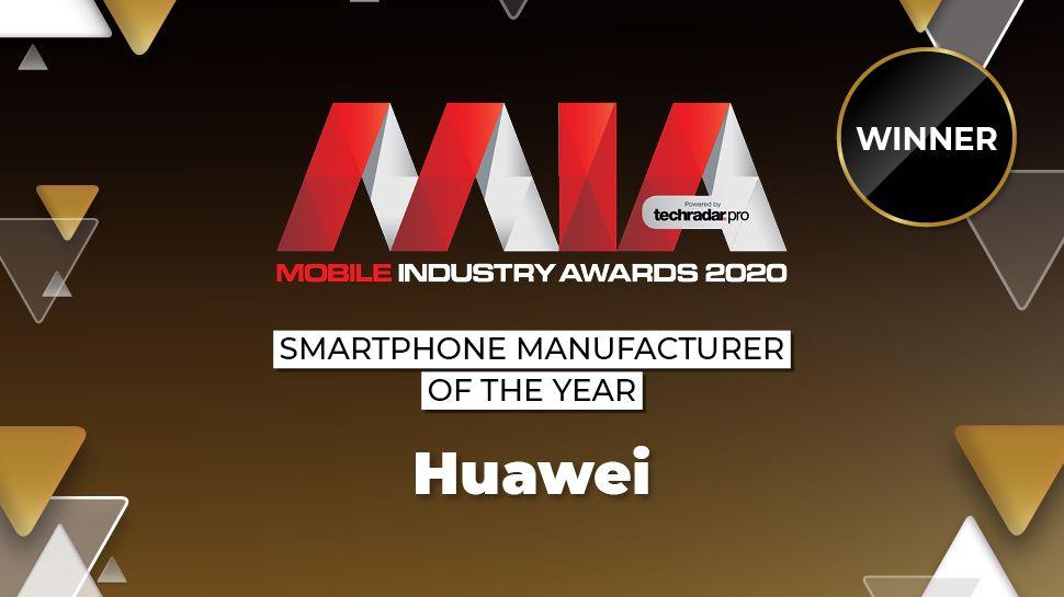Premios de la industria móvil 2020: Huawei gana el premio al fabricante de teléfonos inteligentes del año