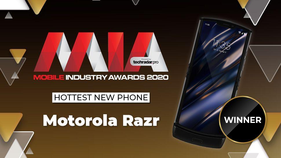 Premios de la industria móvil 2020: Motorola Razr gana el nuevo teléfono más popular