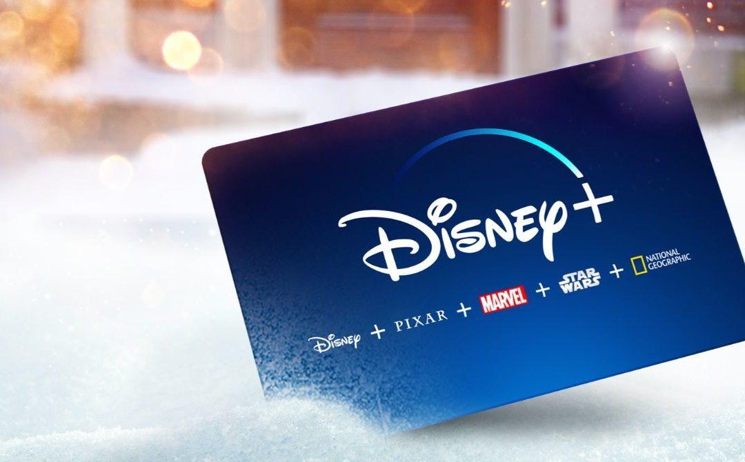 Cyber Monday es el momento perfecto para conseguir una oferta de regalo navideño de Disney Plus