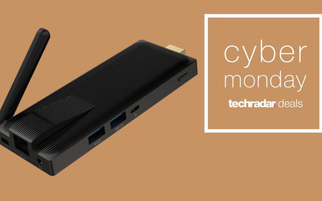 La PC con Windows 10 Pro más barata este Cyber Monday es increíblemente pequeña