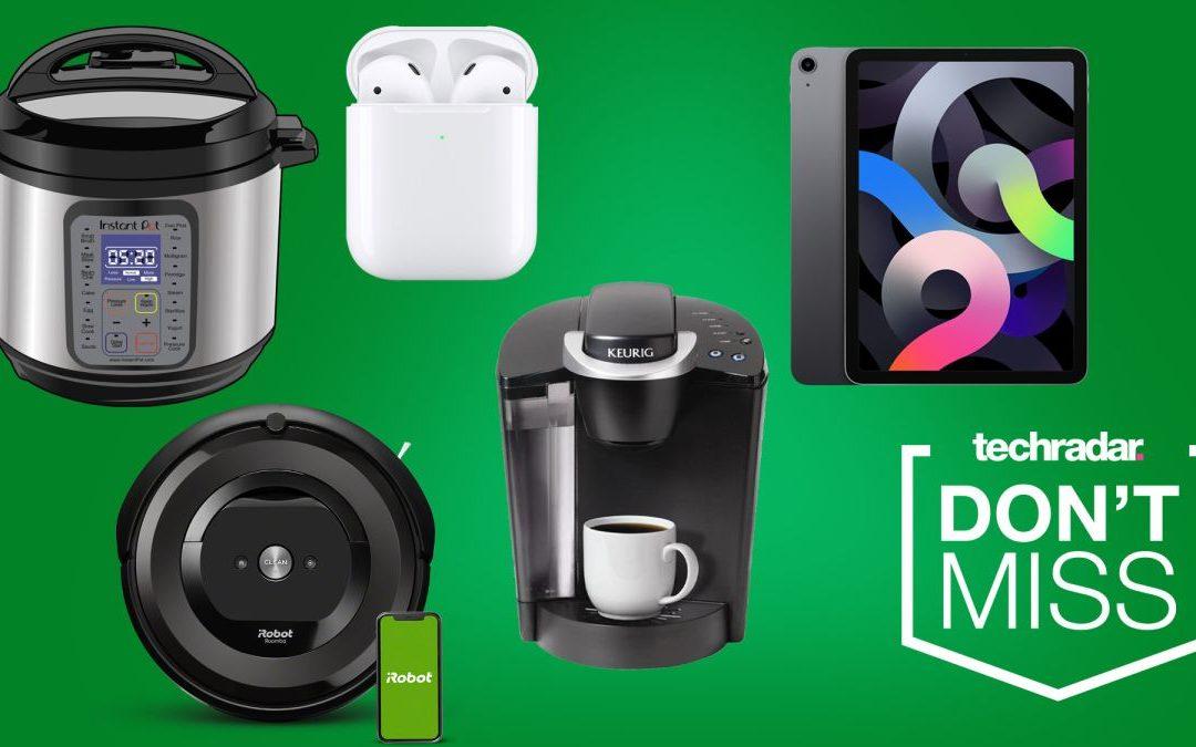 Ofertas de Navidad en Amazon: iPad, Instant Pot, relojes inteligentes, aspiradoras robotizadas y más