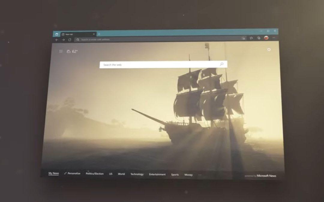 Microsoft Edge admite temas nativos para reorganizar el aspecto de su navegador
