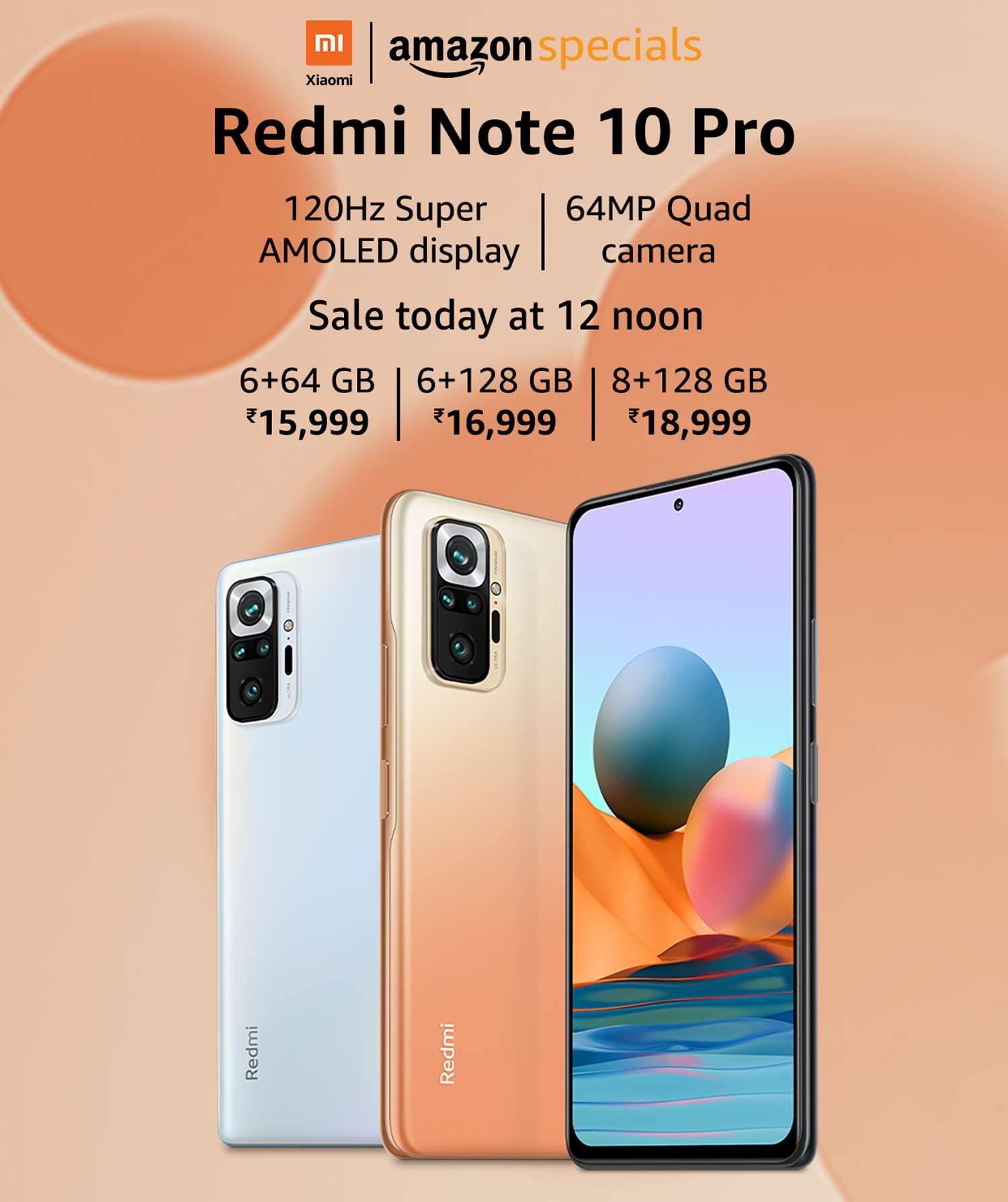 Ventas de Redmi Note 10 Pro