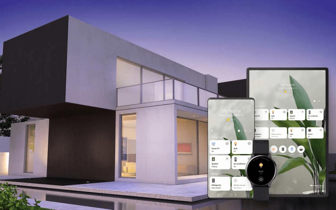 La aplicación para el hogar inteligente SmartThings de Samsung obtiene una nueva interfaz: es más rápida y brillante