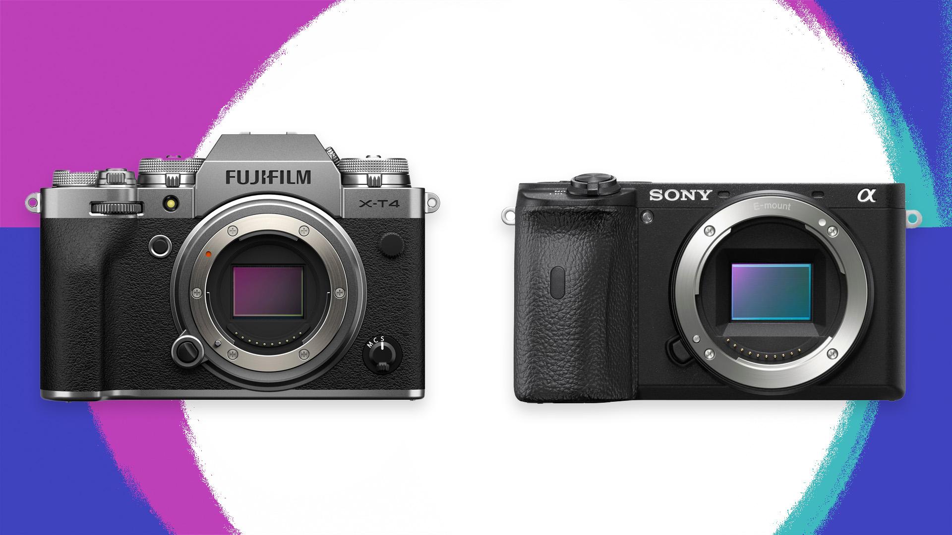La Fujifilm X-T4 y la Sony A6600, dos potenciales competidores de la Canon EOS R7