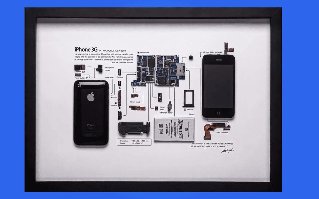 Así es como Grid Studio lleva la nostalgia enmarcada de Apple, Nintendo y Sony a sus paredes