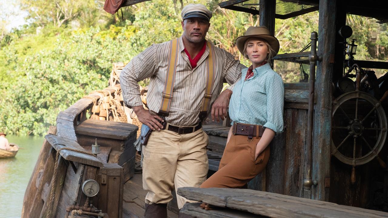 Frank Wolff y la doctora Lily Houghton en Jungle Cruise en Disney Plus