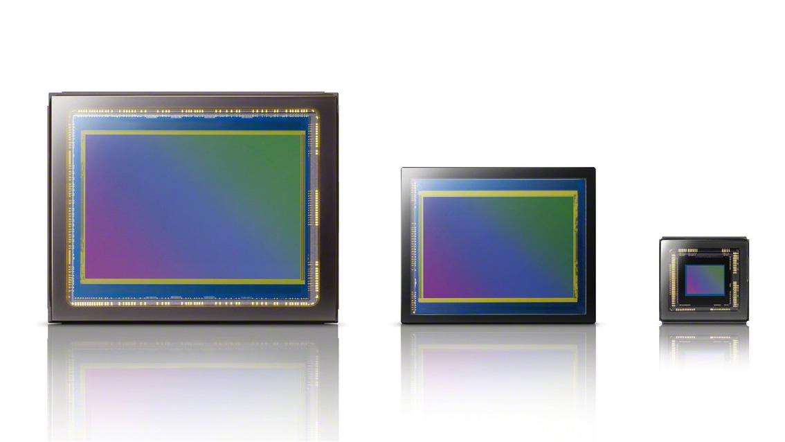 Una comparación de diferentes tamaños de sensores