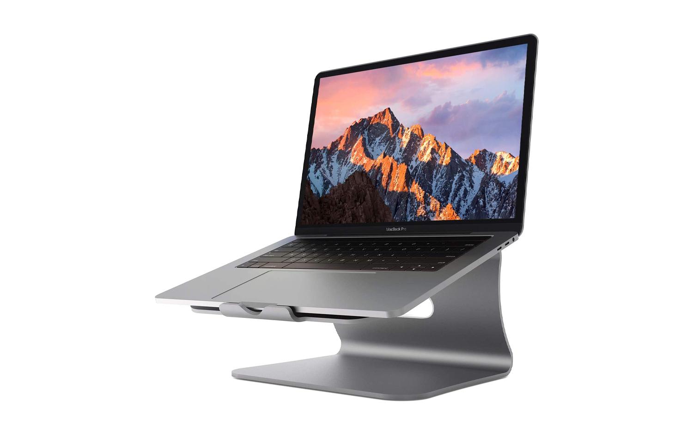 El soporte de enfriamiento de aluminio Bestand eleva su MacBook a la vez que le brinda un poco de enfriamiento adicional.