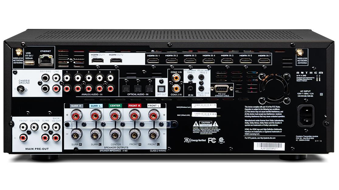 Receptor de AV: Anthem MRX 540