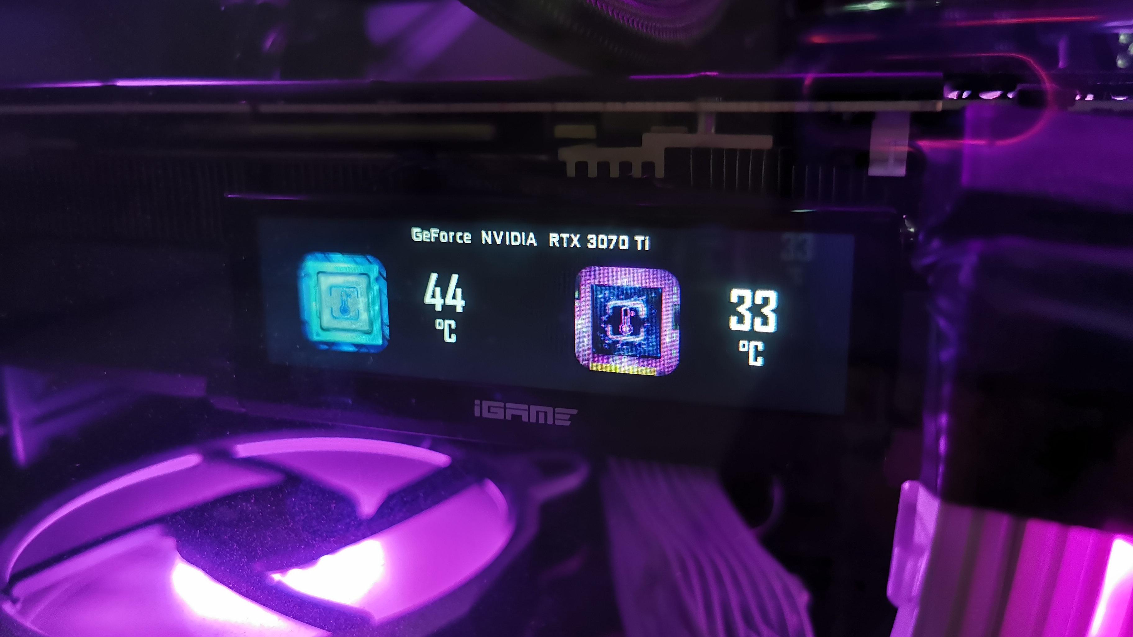 Colorido iGame GeForce RTX 3070 Ti Vulcan
