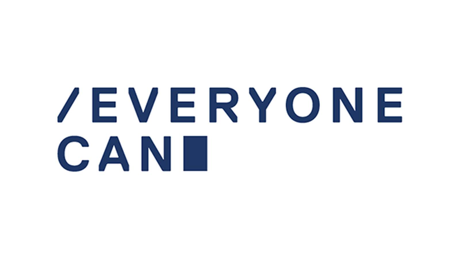 El logotipo de Everyone Can
