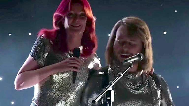 ABBA en el marco de la exposición digital ABBA Voyage