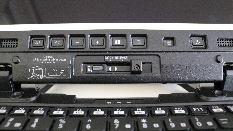 Cerrar los botones de la tableta