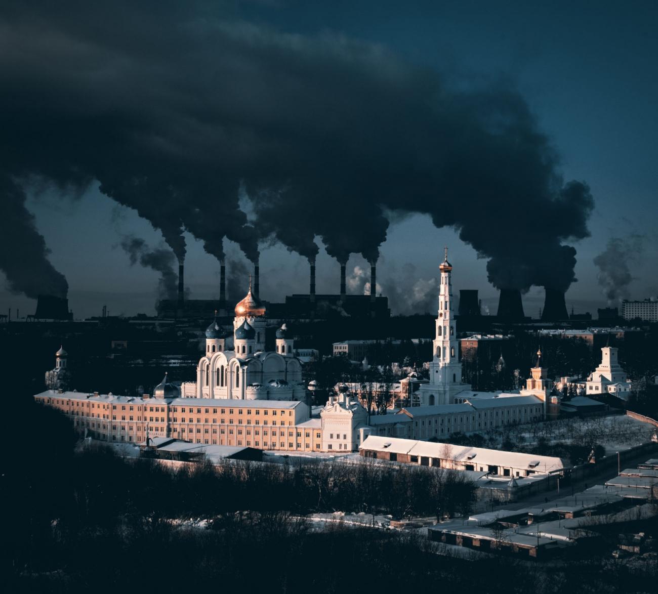 Un monasterio en Moscú