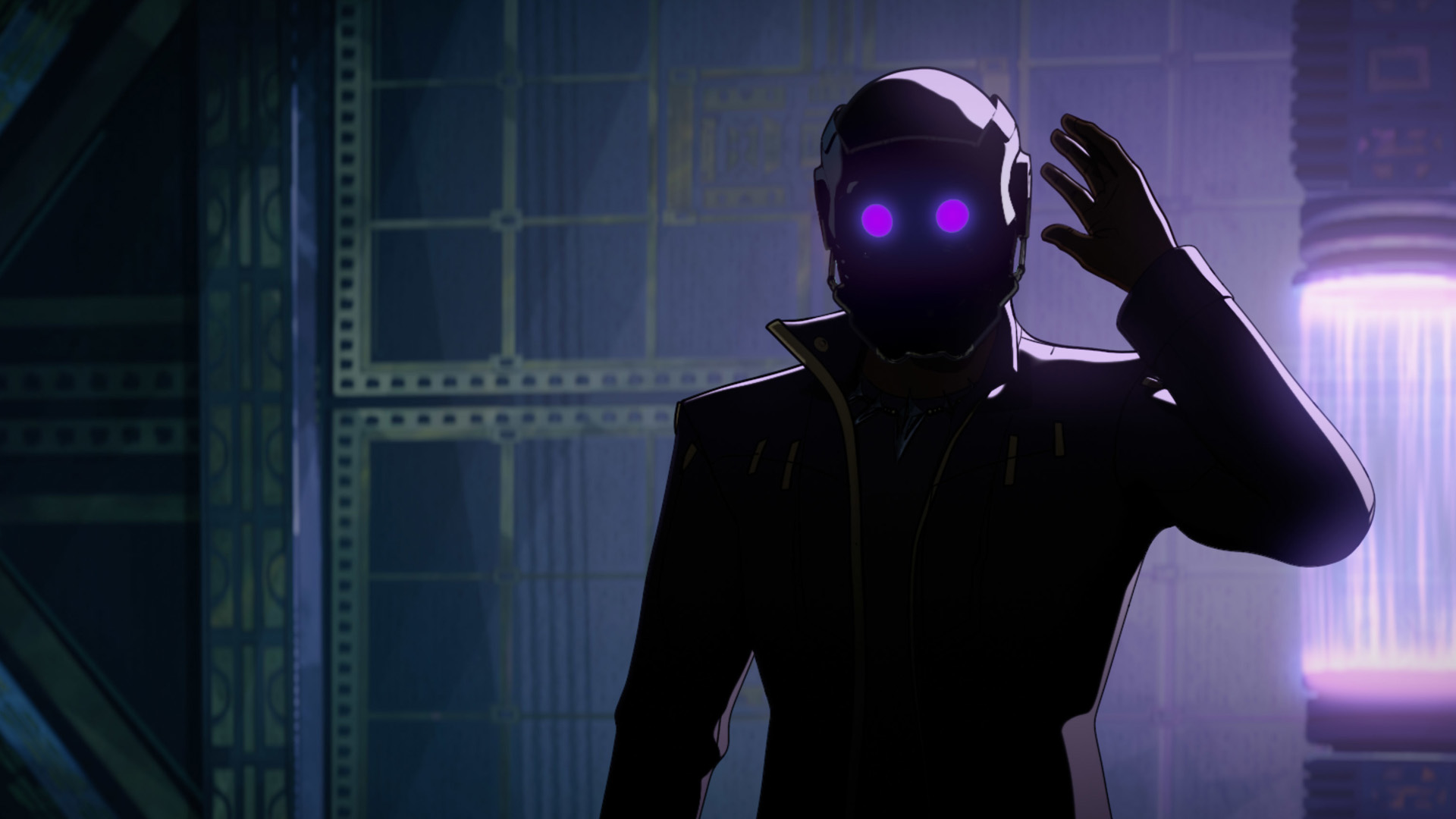 Chadwick Boseman como T'Challa Star Lord en ¿Y si ...?  episodio 2