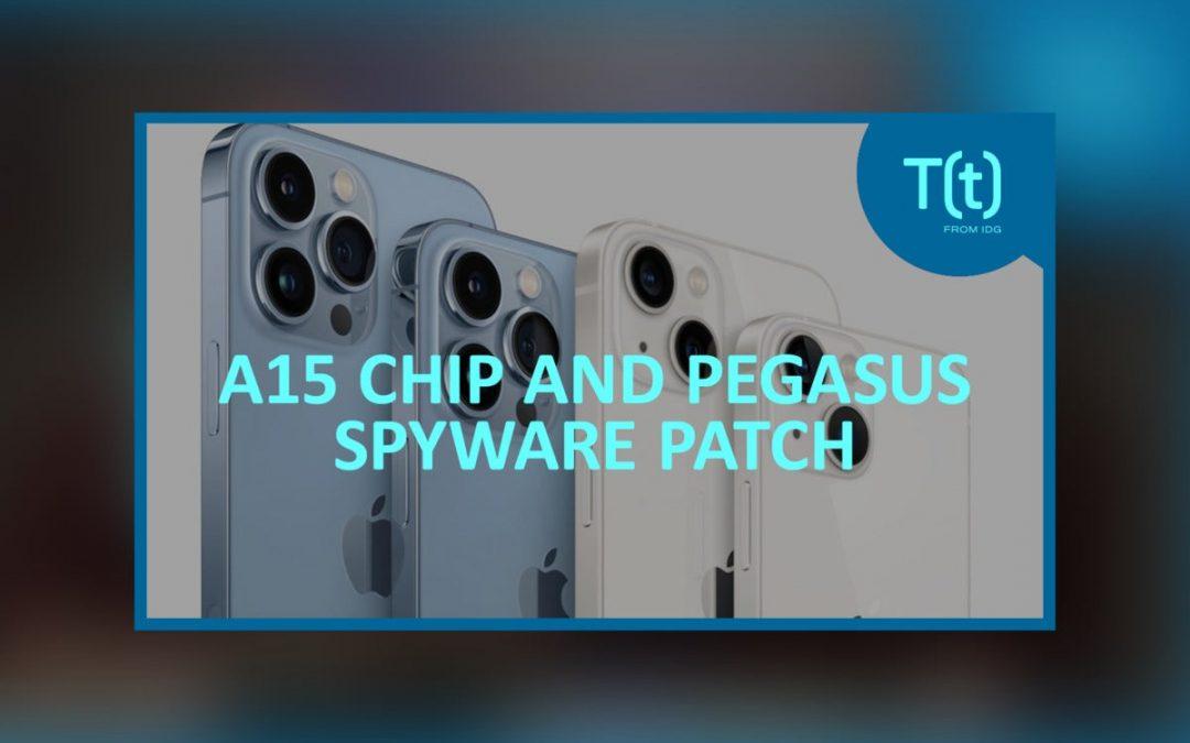 Podcast: Apple presenta el iPhone trece con tecnología A15, iOS ciento cuarenta y ocho corrige la falla del software espía de Pegasus