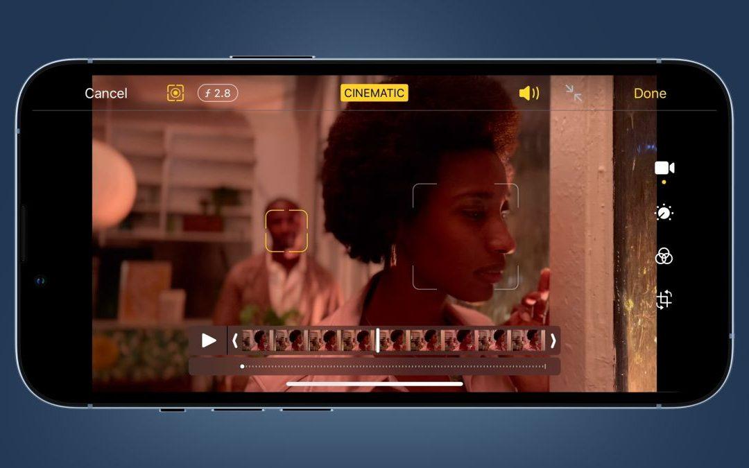 ¿Qué es el modo perfecto cinematográfico?  Explicación del nuevo truco de enfoque de vídeo del iPhone trece