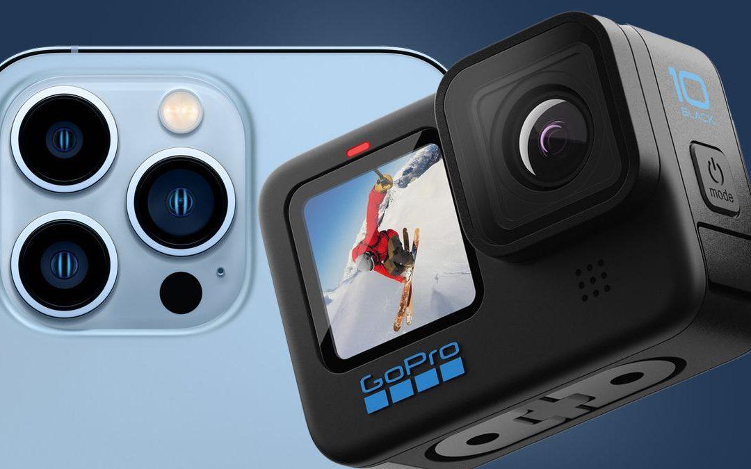 ¿Es la GoPro Hero diez Black una reliquia en la era de los vídeos cinematográficos del iPhone trece?