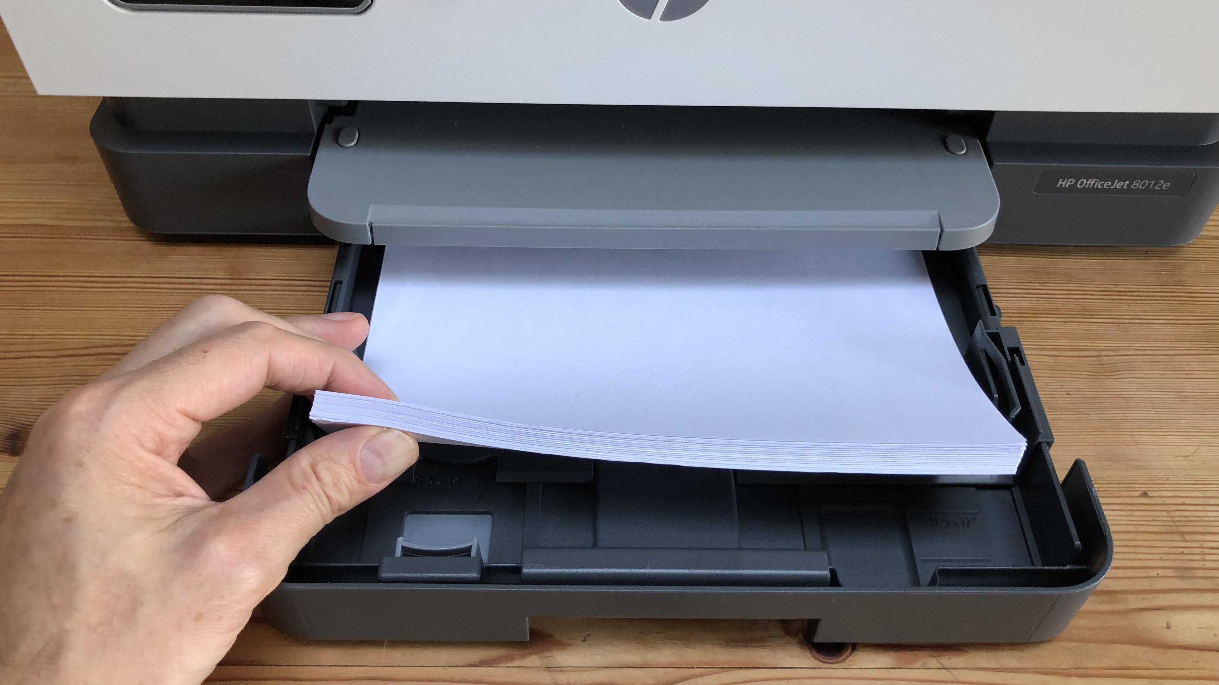 Bandeja de papel