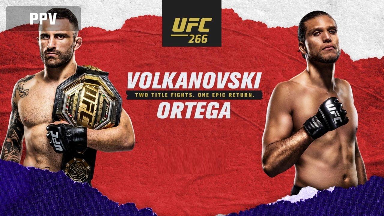 Póster de UFC 266