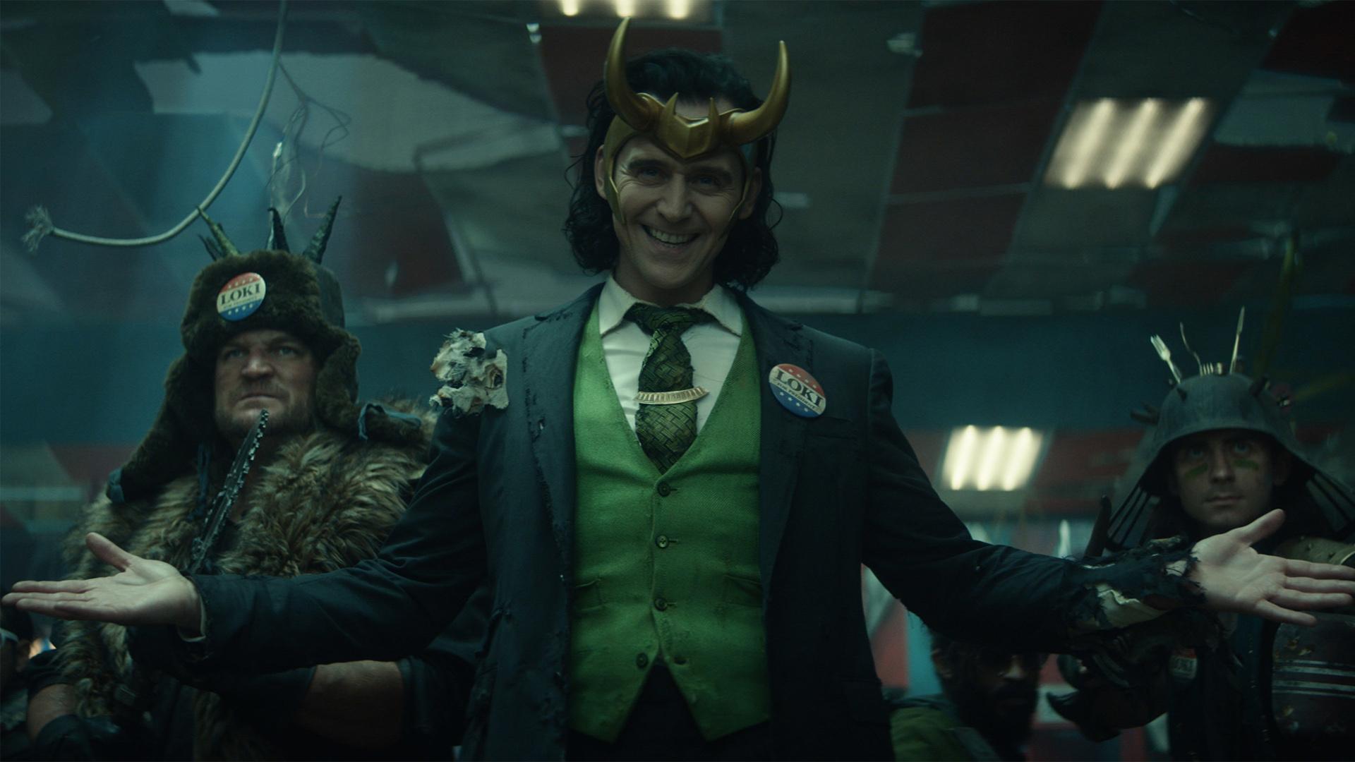 Tom Hiddleston como Loki en Marvel's Loki Season 1
