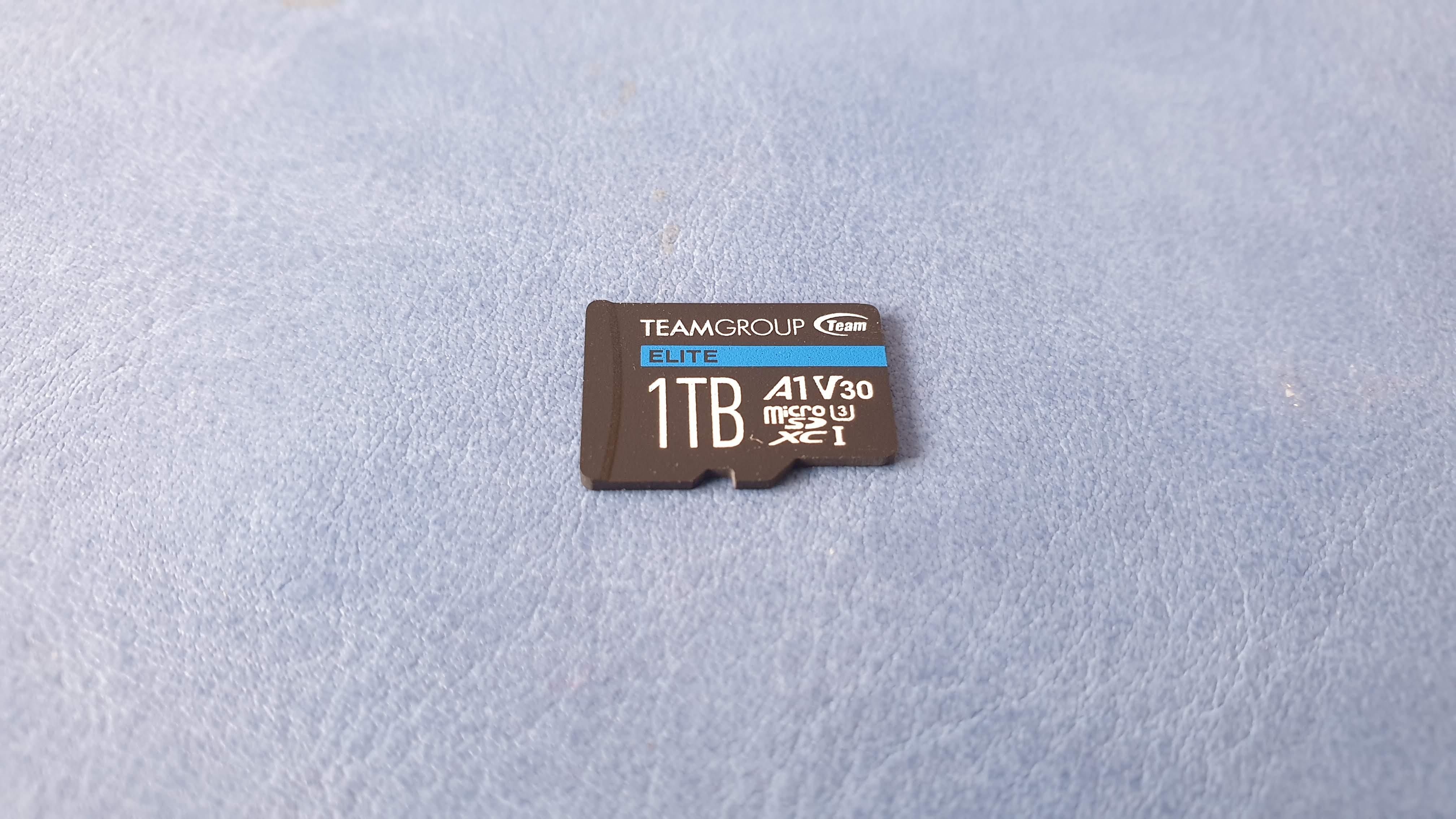 Tarjeta microSD Teamgroup Elite A1 1TB